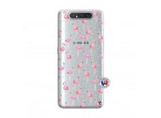 Coque Samsung Galaxy A80 Flamingo