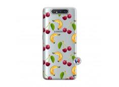 Coque Samsung Galaxy A80 Hey Cherry, j'ai la Banane