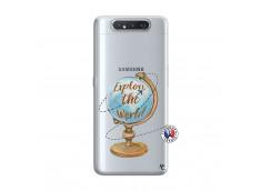 Coque Samsung Galaxy A80 Globe Trotter