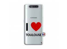 Coque Samsung Galaxy A80 I Love Toulouse