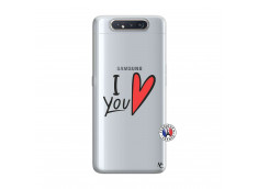 Coque Samsung Galaxy A80 I Love You