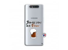 Coque Samsung Galaxy A80 Jamais Sans Ma Brune