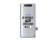 Coque Samsung Galaxy A80 Je Dribble Comme Cristiano