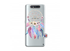 Coque Samsung Galaxy A80 Multicolor Watercolor Floral Dreamcatcher