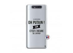 Coque Samsung Galaxy A80 Oh Putain C Est L Heure De L Apero