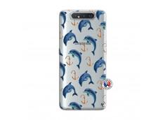 Coque Samsung Galaxy A80 Dauphins