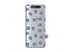 Coque Samsung Galaxy A80 Petits Hippos