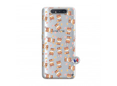 Coque Samsung Galaxy A80 Petits Renards