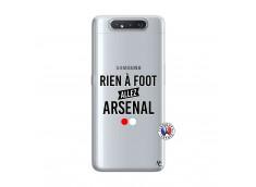 Coque Samsung Galaxy A80 Rien A Foot Allez Arsenal