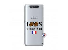 Coque Samsung Galaxy A80 100% Rugbyman