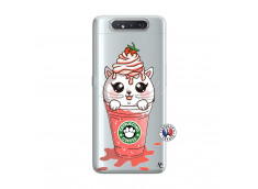Coque Samsung Galaxy A80 Catpucino Ice Cream