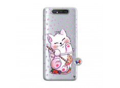 Coque Samsung Galaxy A80 Smoothie Cat