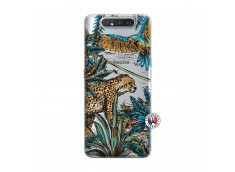 Coque Samsung Galaxy A80 Leopard Jungle