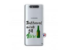 Coque Samsung Galaxy A80 Tout Travail Merite Sa Biere