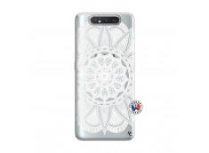 Coque Samsung Galaxy A80 White Mandala