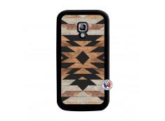 Coque Samsung Galaxy ACE 2 Aztec Noir