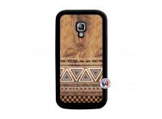 Coque Samsung Galaxy ACE 2 Aztec Deco Noir