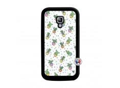 Coque Samsung Galaxy ACE 2 Le Monde Entier est un Cactus Noir