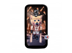 Coque Samsung Galaxy ACE 2 Cat Nasa Noir