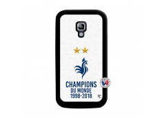 Coque Samsung Galaxy ACE 2 Champion Du Monde Noir