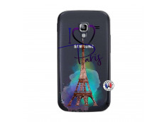 Coque Samsung Galaxy ACE 2 I Love Paris