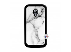Coque Samsung Galaxy ACE 2 White Marble Noir