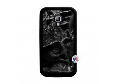 Coque Samsung Galaxy ACE 2 Black Marble Noir