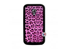 Coque Samsung Galaxy ACE 2 Pink Leopard Noir