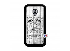 Coque Samsung Galaxy ACE 2 White Old Jack Noir