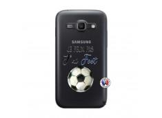 Coque Samsung Galaxy ACE 3 Je peux pas j'ai Foot