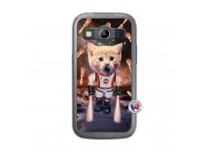 Coque Samsung Galaxy ACE 4 Cat Nasa Translu