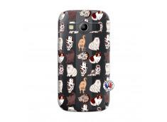 Coque Samsung Galaxy ACE 4 Cat Pattern