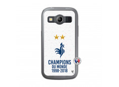 Coque Samsung Galaxy ACE 4 Champion Du Monde Translu