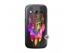 Coque Samsung Galaxy ACE 4 Dreamcatcher Rainbow Feathers