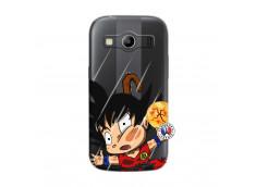 Coque Samsung Galaxy ACE 4 Goku Impact