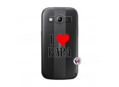 Coque Samsung Galaxy ACE 4 I Love Papa