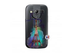 Coque Samsung Galaxy ACE 4 I Love Paris