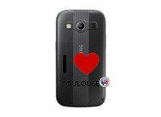 Coque Samsung Galaxy ACE 4 I Love Toulouse