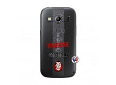 Coque Samsung Galaxy ACE 4 J Peux Pas J Ai Un Braquage Avec Le Professeur
