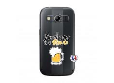 Coque Samsung Galaxy ACE 4 Jamais Sans Ma Blonde