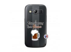 Coque Samsung Galaxy ACE 4 Jamais Sans Ma Brune