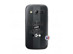 Coque Samsung Galaxy ACE 4 Je Dribble Comme Cristiano