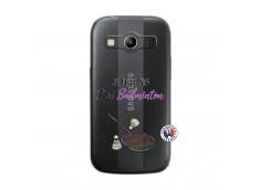Coque Samsung Galaxy ACE 4 Je Peux Pas J Ai Badminton