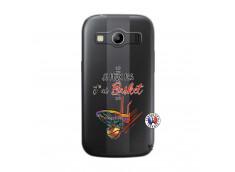 Coque Samsung Galaxy ACE 4 Je Peux Pas J Ai Basket