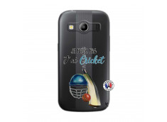 Coque Samsung Galaxy ACE 4 Je peux pas j'ai cricket