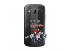 Coque Samsung Galaxy ACE 4 Je Peux Pas J Ai Equitation