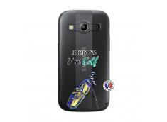 Coque Samsung Galaxy ACE 4 Je Peux Pas J Ai Golf