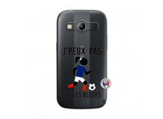 Coque Samsung Galaxy ACE 4 Je Peux Pas J Ai Les Bleues