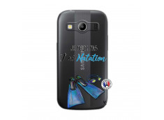 Coque Samsung Galaxy ACE 4 Je Peux Pas J Ai Natation