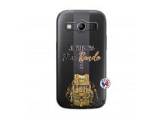 Coque Samsung Galaxy ACE 4 Je Peux Pas J Ai Rando